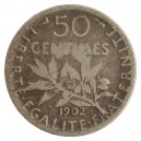 50 Centimes 1902