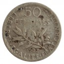 50 Centimes 1902