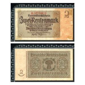 Allemagne / 2 Rentenmark 1937