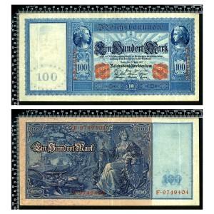 Allemagne / 100 Mark 1910