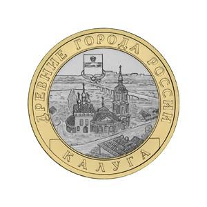 10 Roubles 2009 Kaluga, (XIV° siècle)
