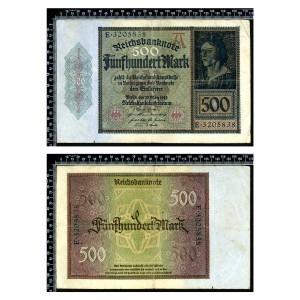 Allemagne / 500 Mark 1922