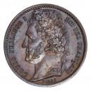 1/2 Franc 1843 / Essai de Bovy