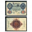 Allemagne / 20 Mark 1914