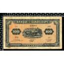 Guadeloupe / 100 francs 1942